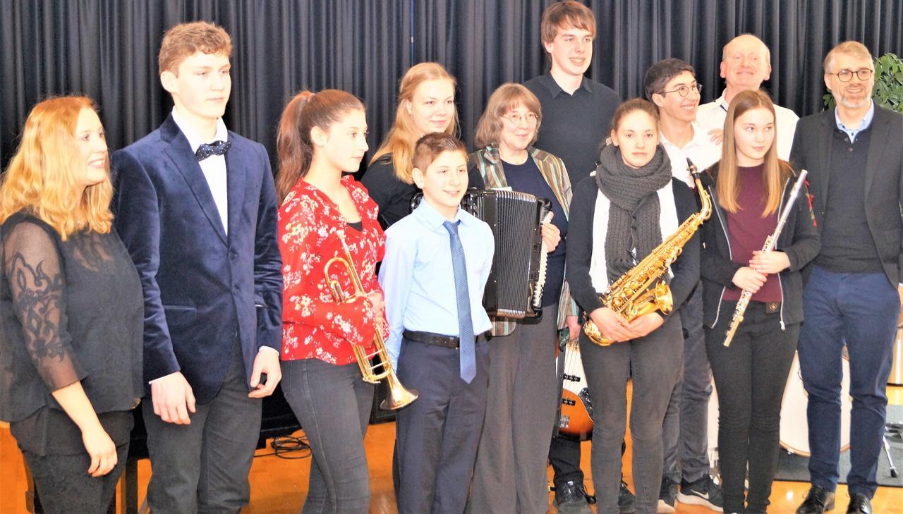 Klinik bietet Musikschülern eine Bühne
