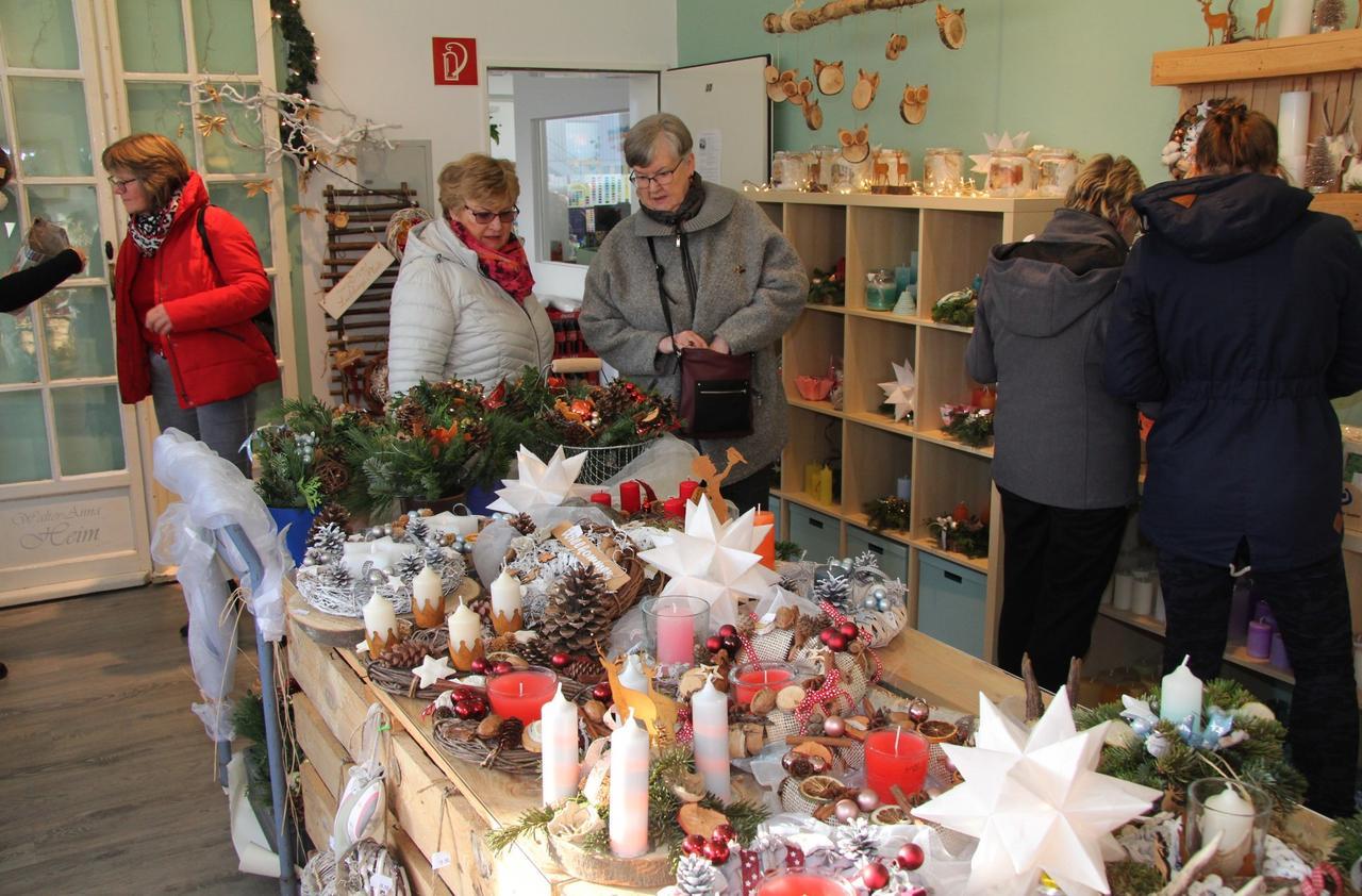Erster Kreativ-Manufaktur-Weihnachtsmarkt