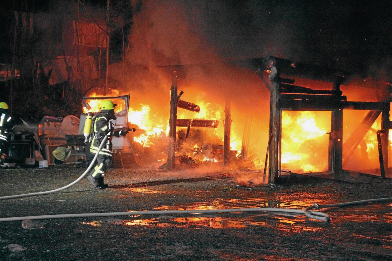 Brandursache wird weiter ermittelt