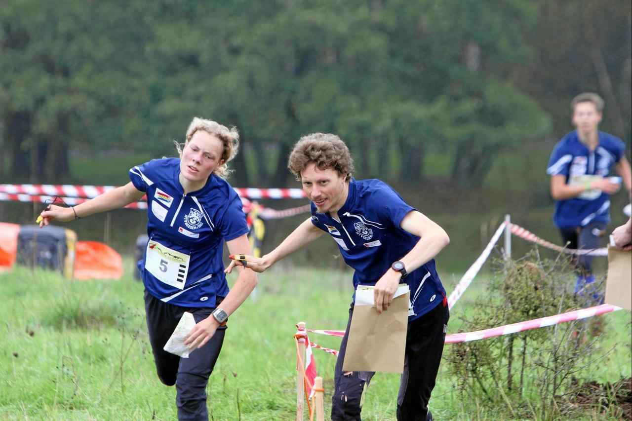 Orientierungsläufer starten beim Harz-Cup