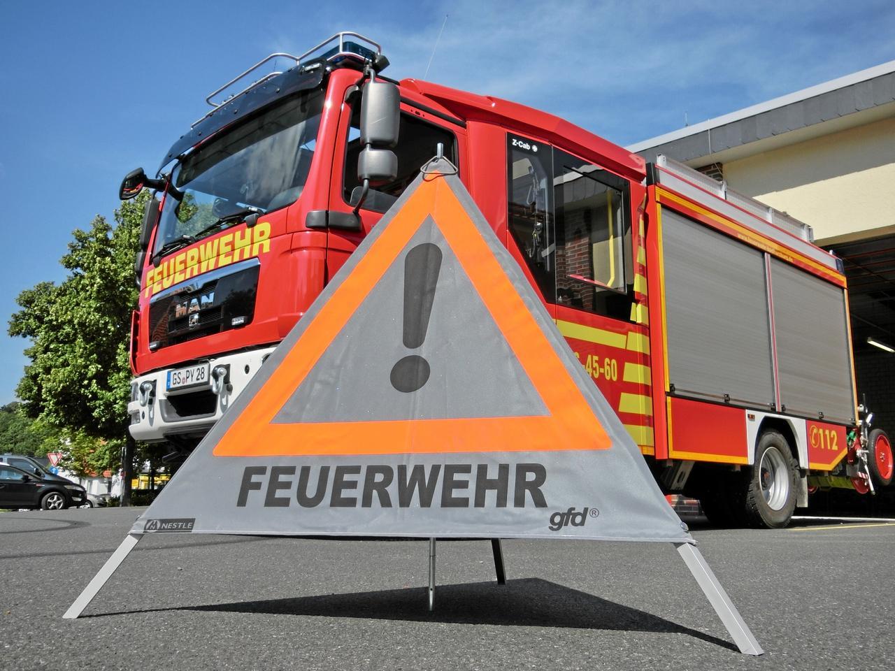 Brandursachenermittler an der Arbeit