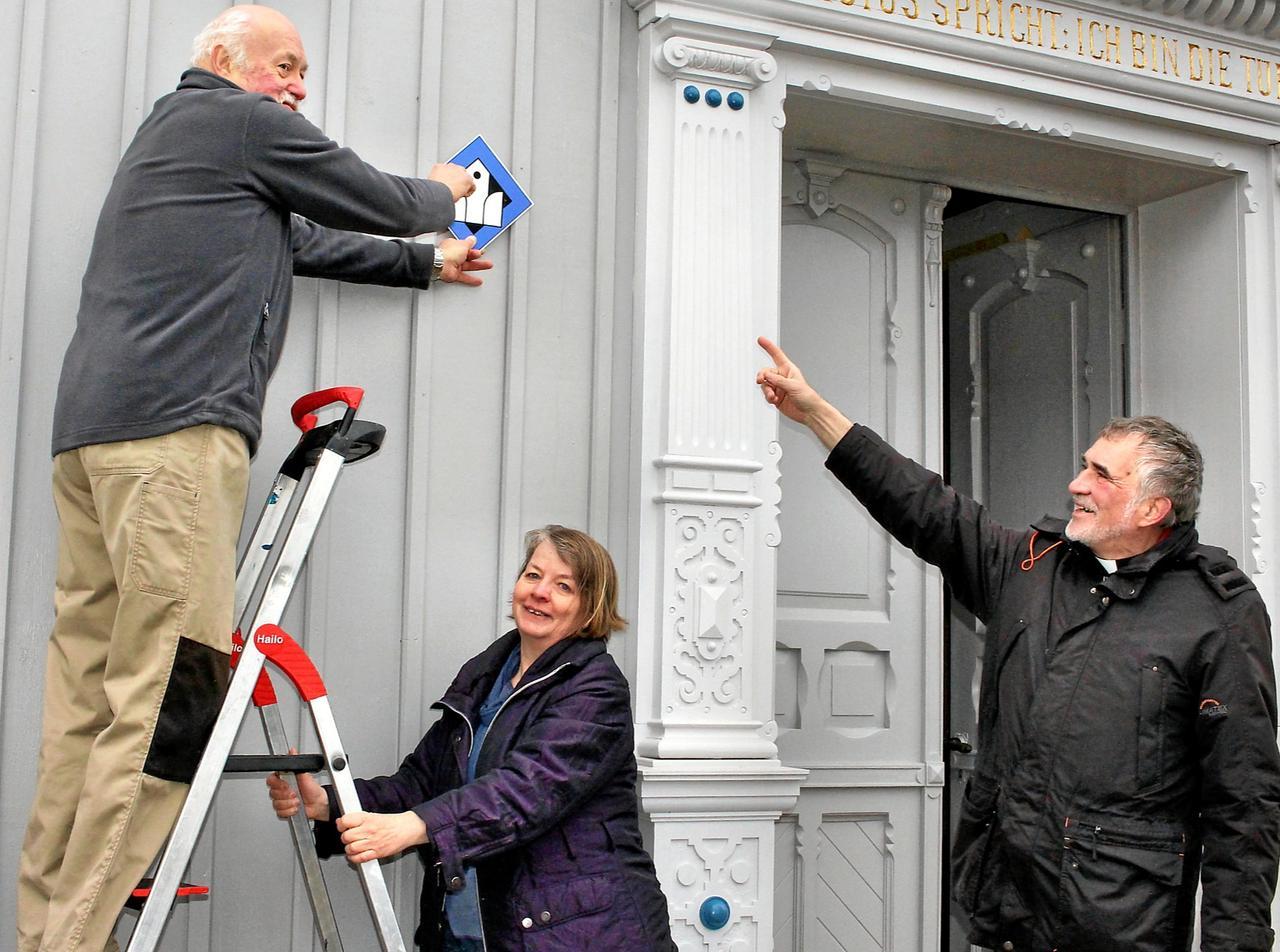 Gotteshaus öffnet seine Türen