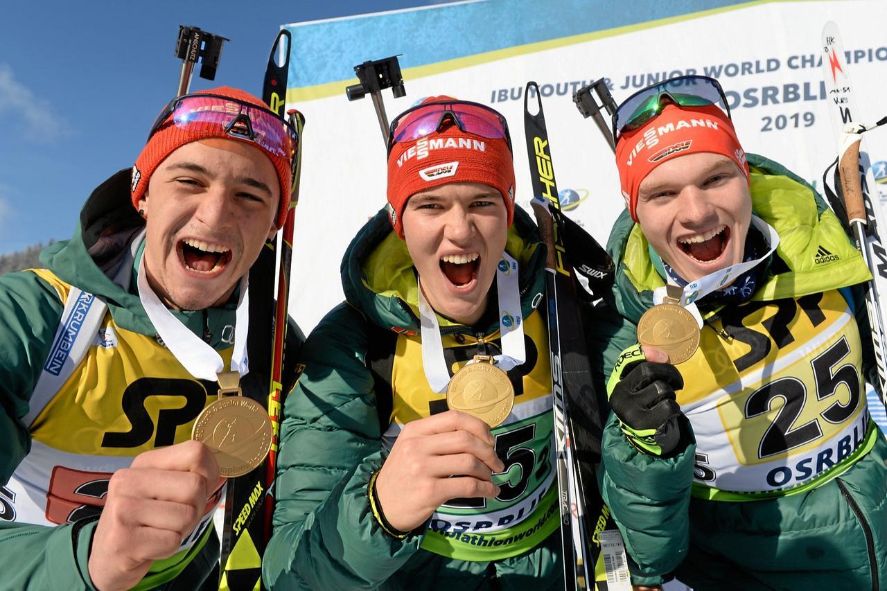Köllner gewinnt Gold mit deutscher Staffel