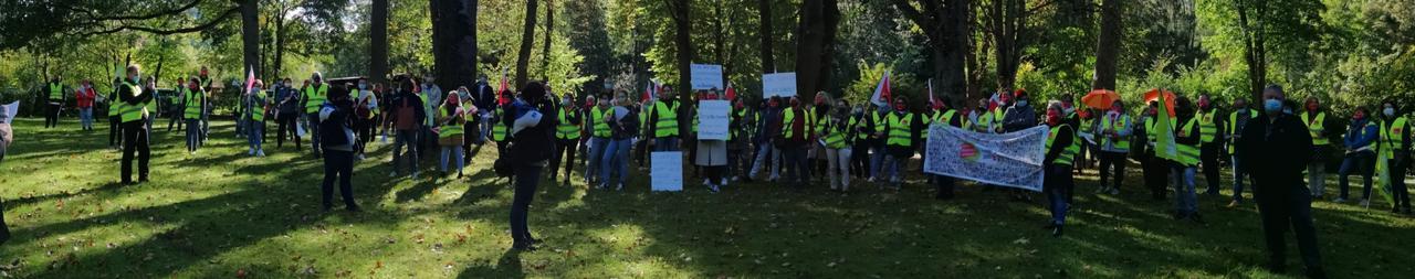 Unbefristeter Streik in Seesen hat begonnen