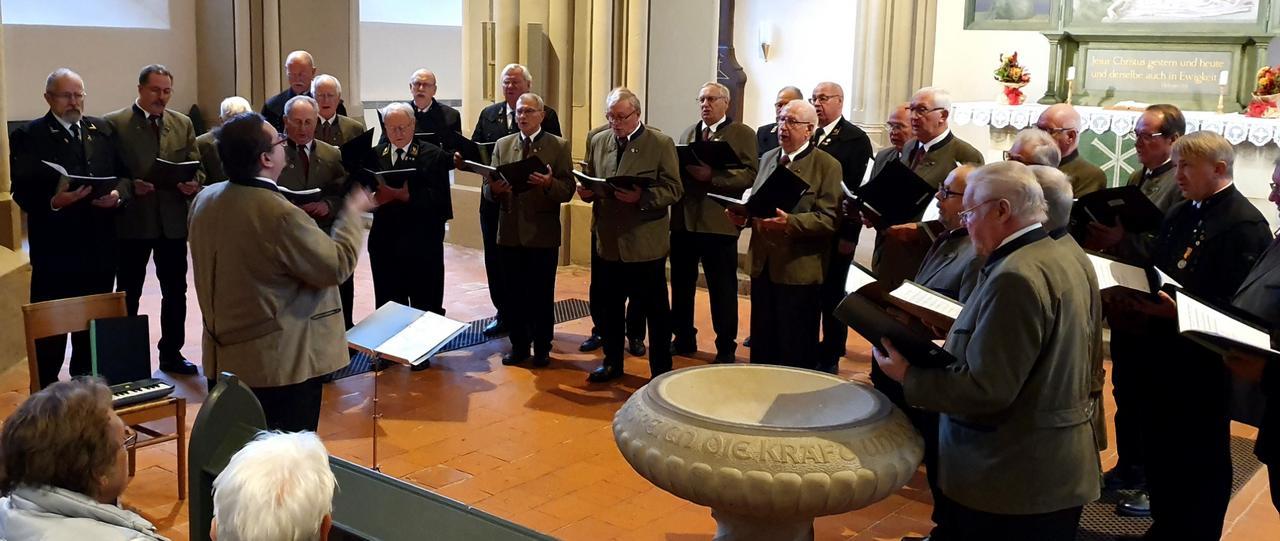 Konzert der TuS-Sängerriege mit Gästen