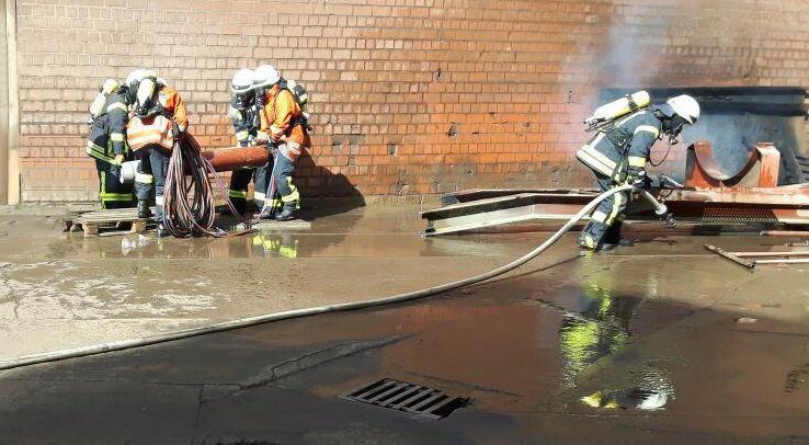Gefährlicher Einsatz für Feuerwehr Oker