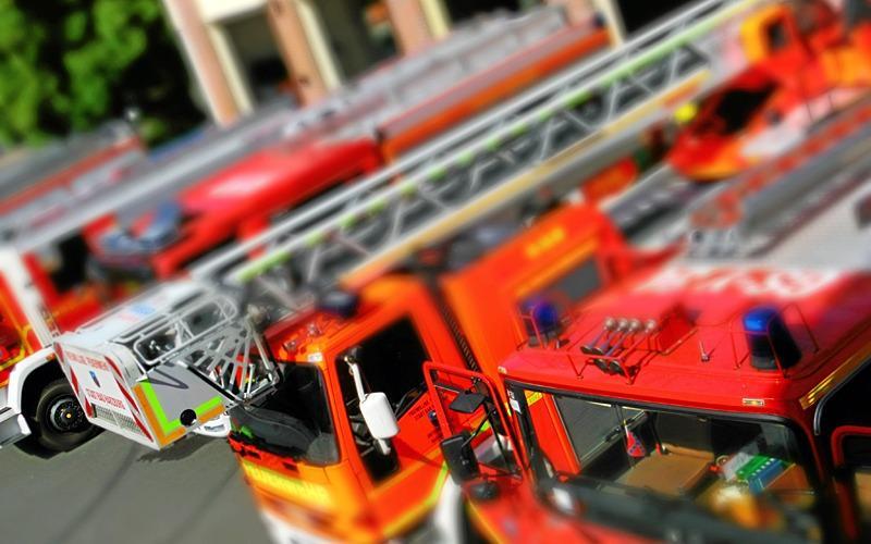 Drei Verletzte nach Wohnungsbrand