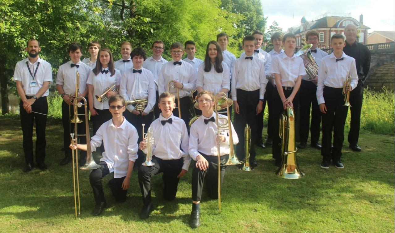 Nachwuchsmusikeraus England zu Gast