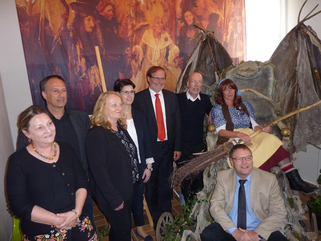 """Hexenthron aus """"Die Kleine Hexe"""" im Harz"""