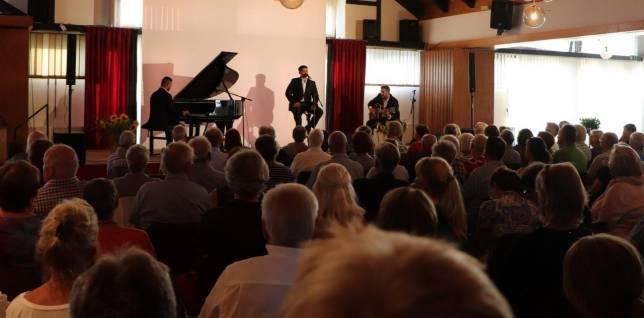 Jazztrio begeistert in Wolfshagen