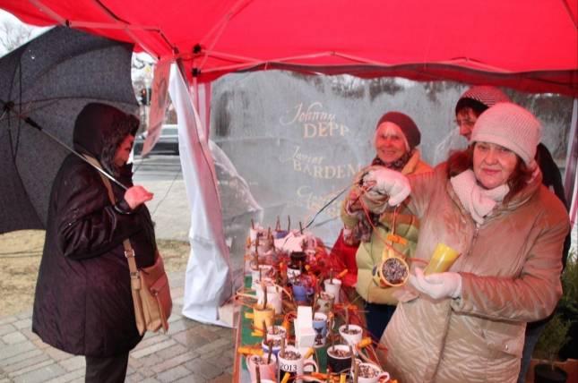 Weihnachtsmarkt in der Begegenungsstätte