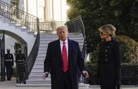Trump verlässt das Weiße Haus
