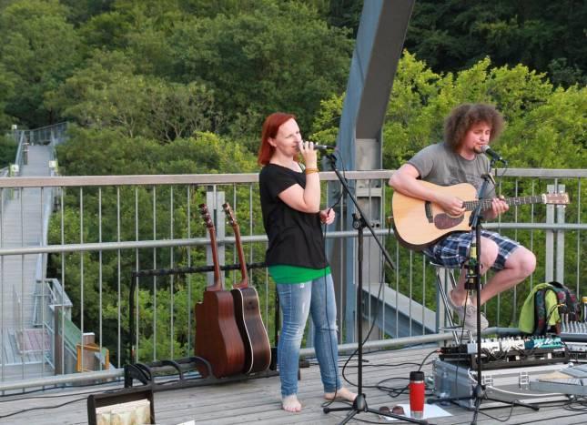 Konzertabend auf dem Baumwipfelpfad