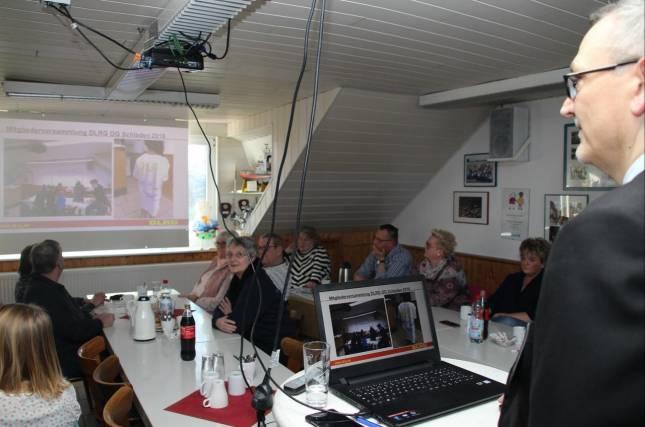 Mitgliederversammlung der DLRG- Ortsgruppe