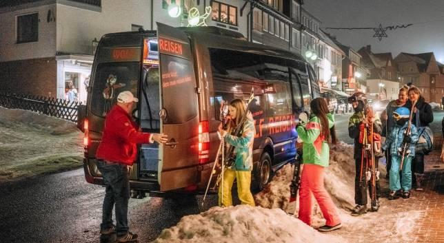 Skibus fährt noch vor Weihnachten