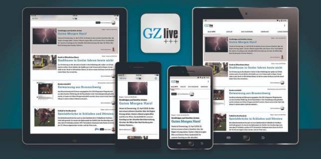 GZ live: App gratis downloaden