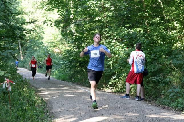 Daumen hoch für die Läufer