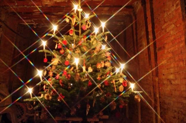 """Weihnachtliches """"Unter Tage"""""""