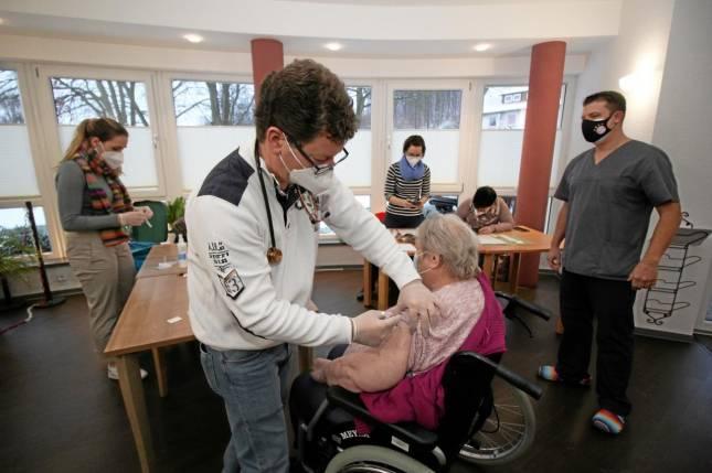 Impfstart in Altenheimen im Nordharz