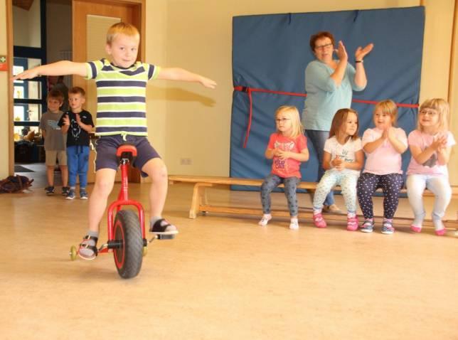 Kindergarten feiert 25 Jahre mit Zirkusshow