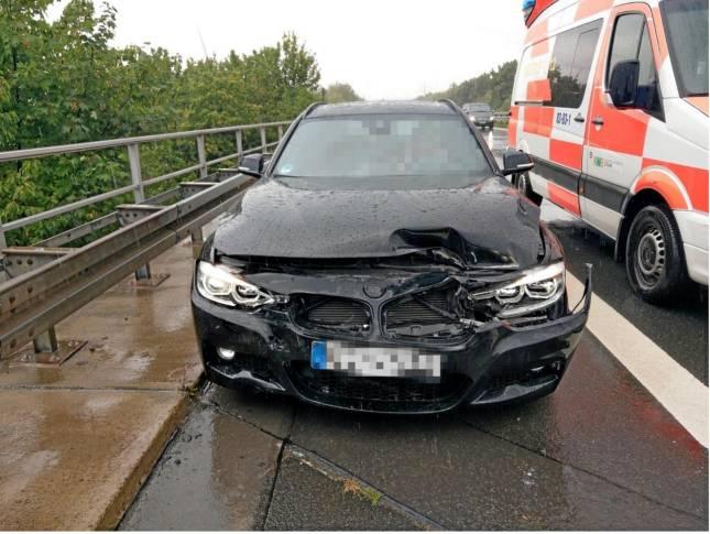 Schwerer Unfall ohne Verletzte