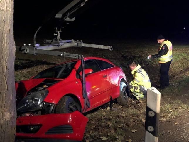 18-Jähriger übersteht Crash unverletzt