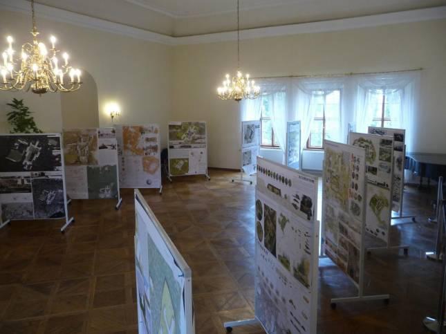 Ausstellung zum Ziegenberg im Schloss