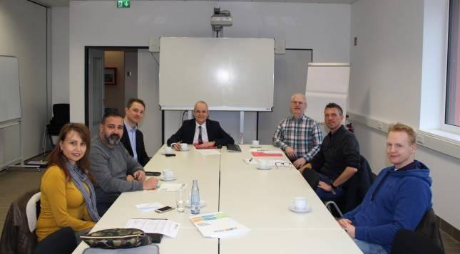 Vorbereitung auf den Kongress in Bilbao