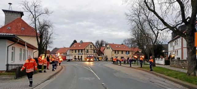 Kein normales Jahr für Hornburgs Feuerwehr