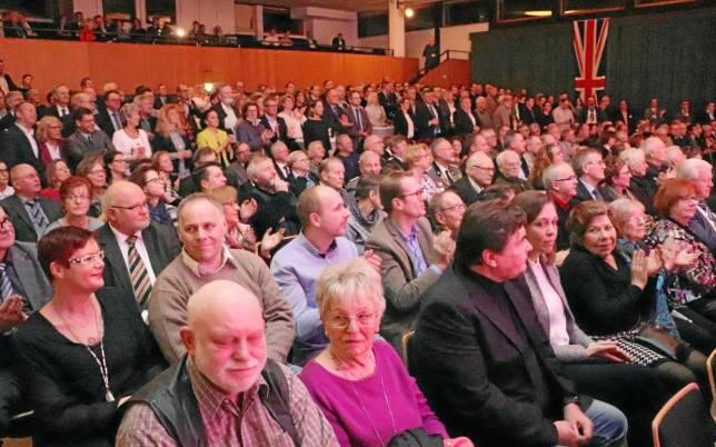 400 Gäste beim Neujahrsempfang