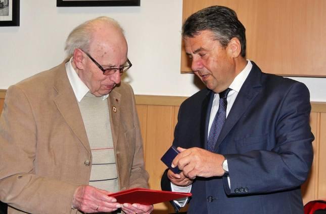 61  Jahre Mitglied  in der SPD