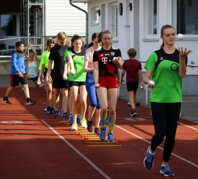 Leichtathleten in Harlingerode wieder aktiv