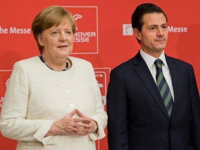 Merkel eröffnet Hannover Messe