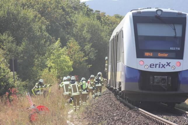 Rauch in einer Regionalbahn