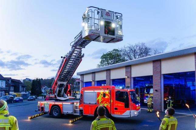 Feuerwehr hat neue Drehleiter