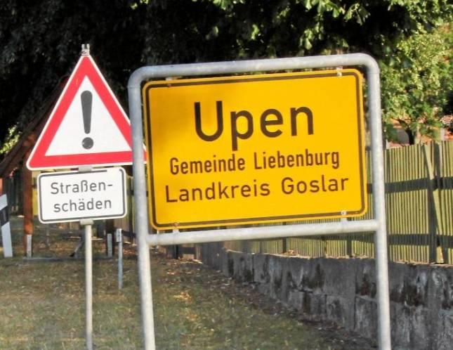 Ortsdurchfahrt Upen wird im Herbst saniert