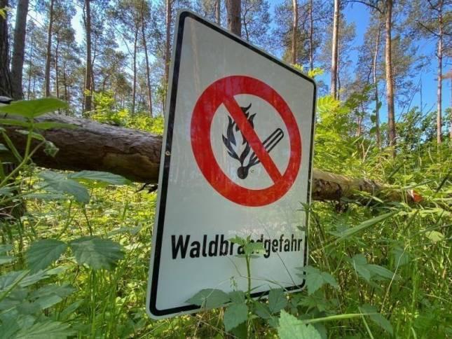 Waldbrandgefahr in Niedersachsen
