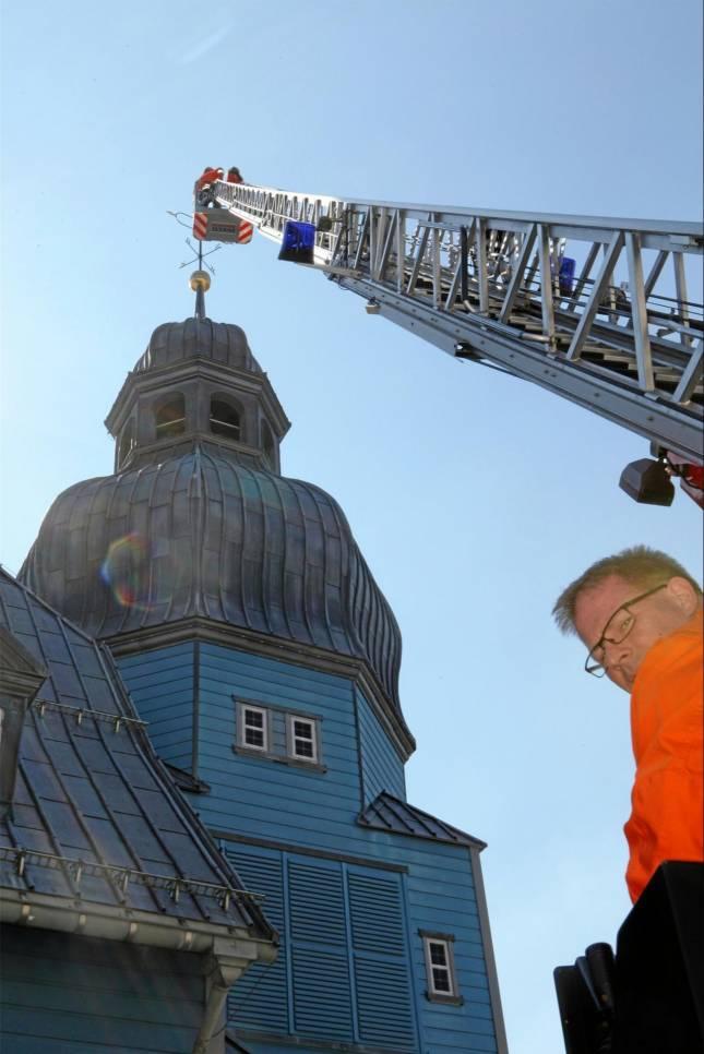 Was wäre, wenn die Marktkirche brennt