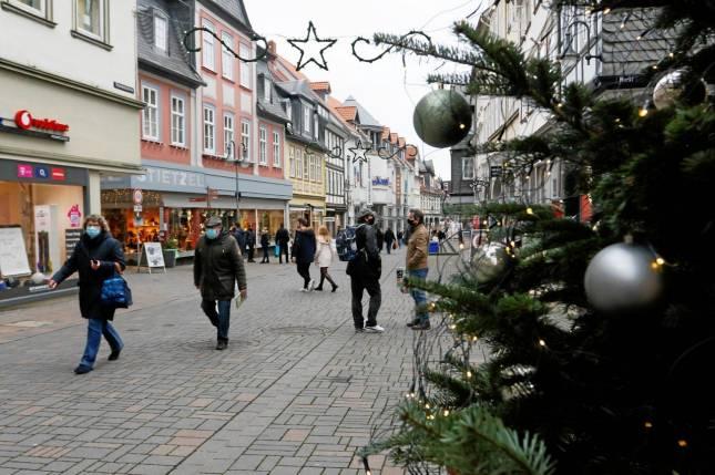 Weihnachtseinkauf unter Corona-Bedingungen