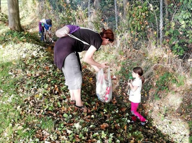 Familieninitiative gegen den Abfall