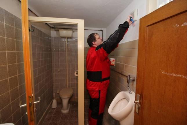 Schützen sanieren Sanitärbereich