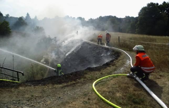 Flächenbrand am Galgensberg
