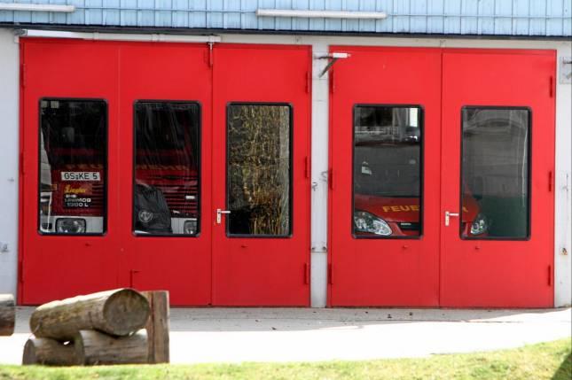 Sanierungsgebiet und neues Feuerwehrhaus