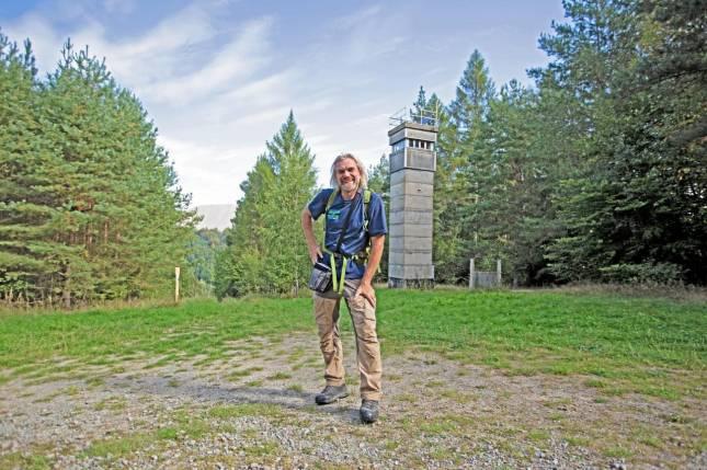 Extremwanderer durchquert den Harz