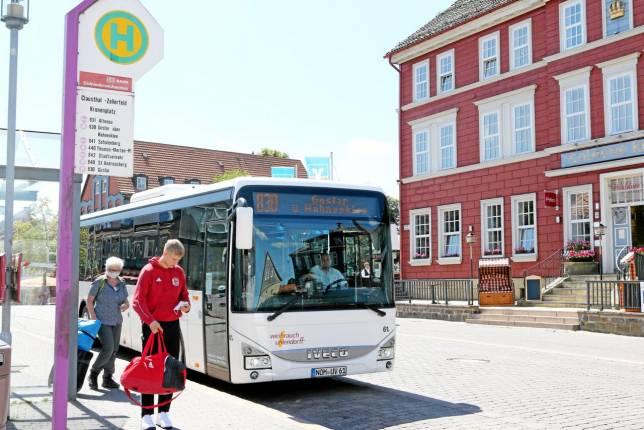 Geänderte Linienführung der Busse