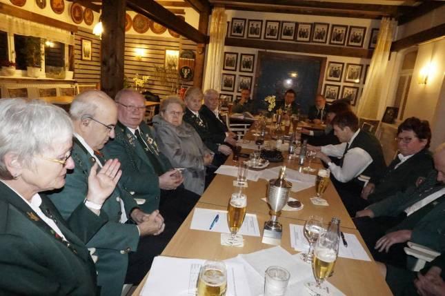 Schützengesellschaft Bündheim tagte