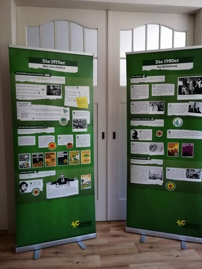 """Ausstellung: 40 Jahre """"Die Grünen"""""""