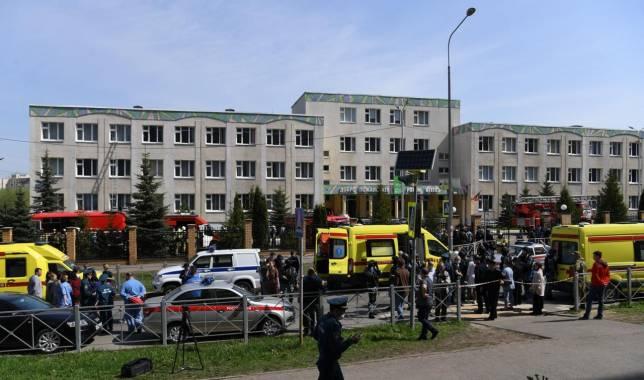Tote bei Angriff auf russische Schule