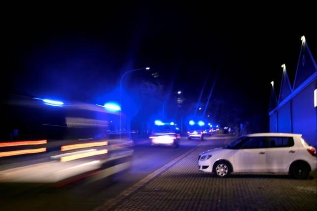 Polizei beendet Rechten-Feier