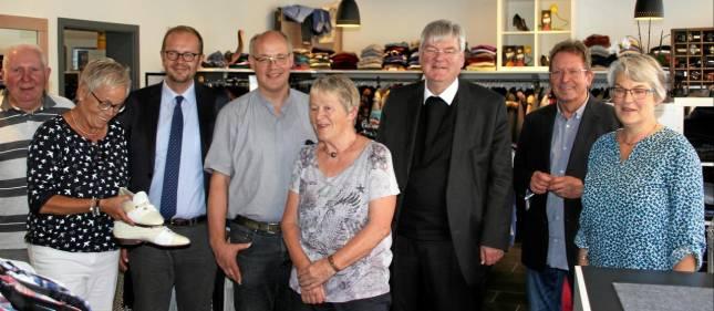 Weihbischof besucht Kolpingladen